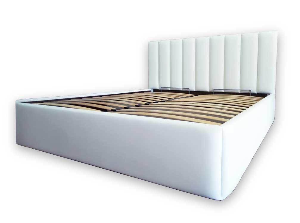 Кровать с мягким изголовьем. Артикул К-14.