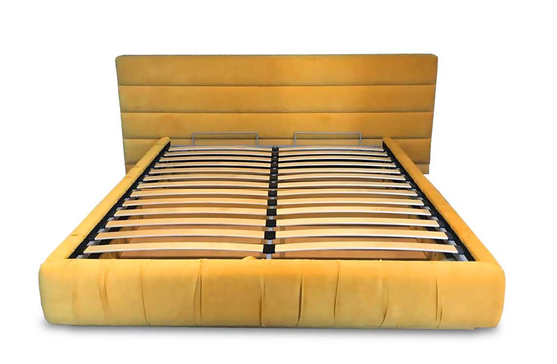 Кровать «Нео» с мягкими изголовьем и боковинами