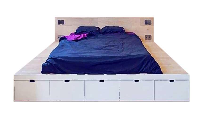 """Кровать с основанием """"подиум"""""""