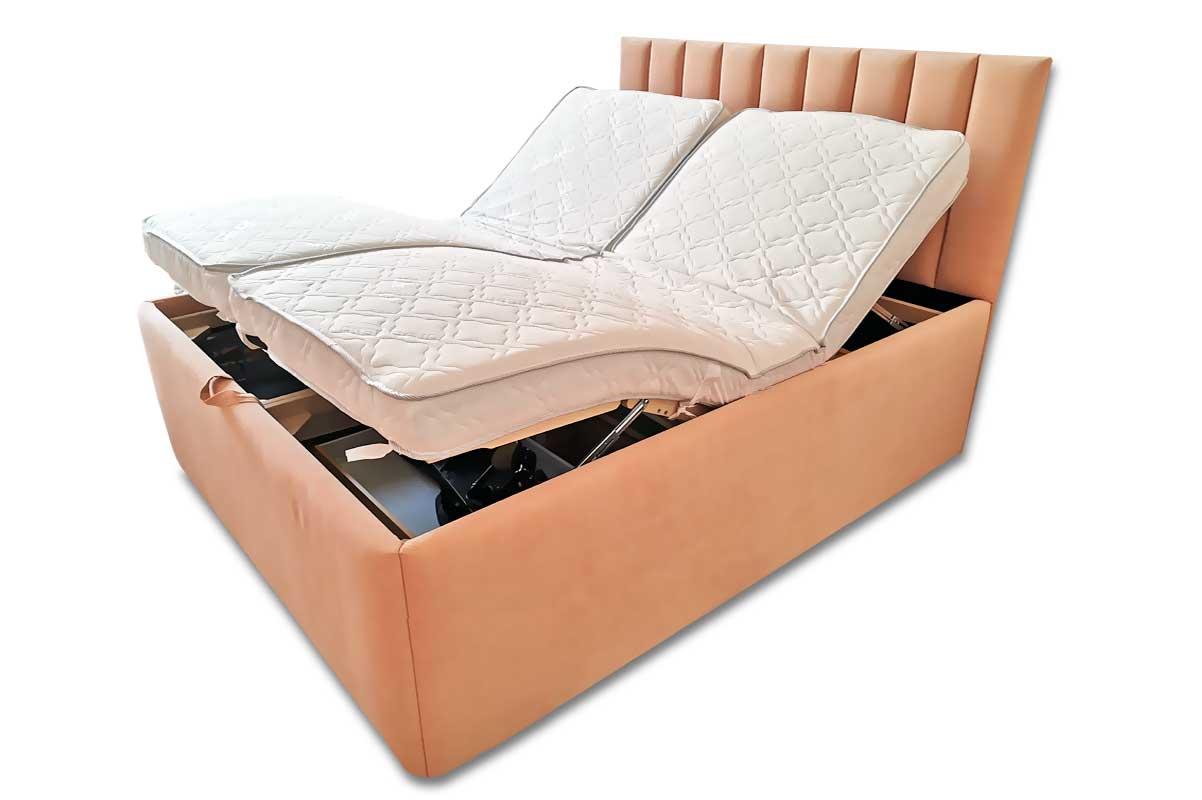 Кровать «Эрго» с мягким изголовьем и боковинами