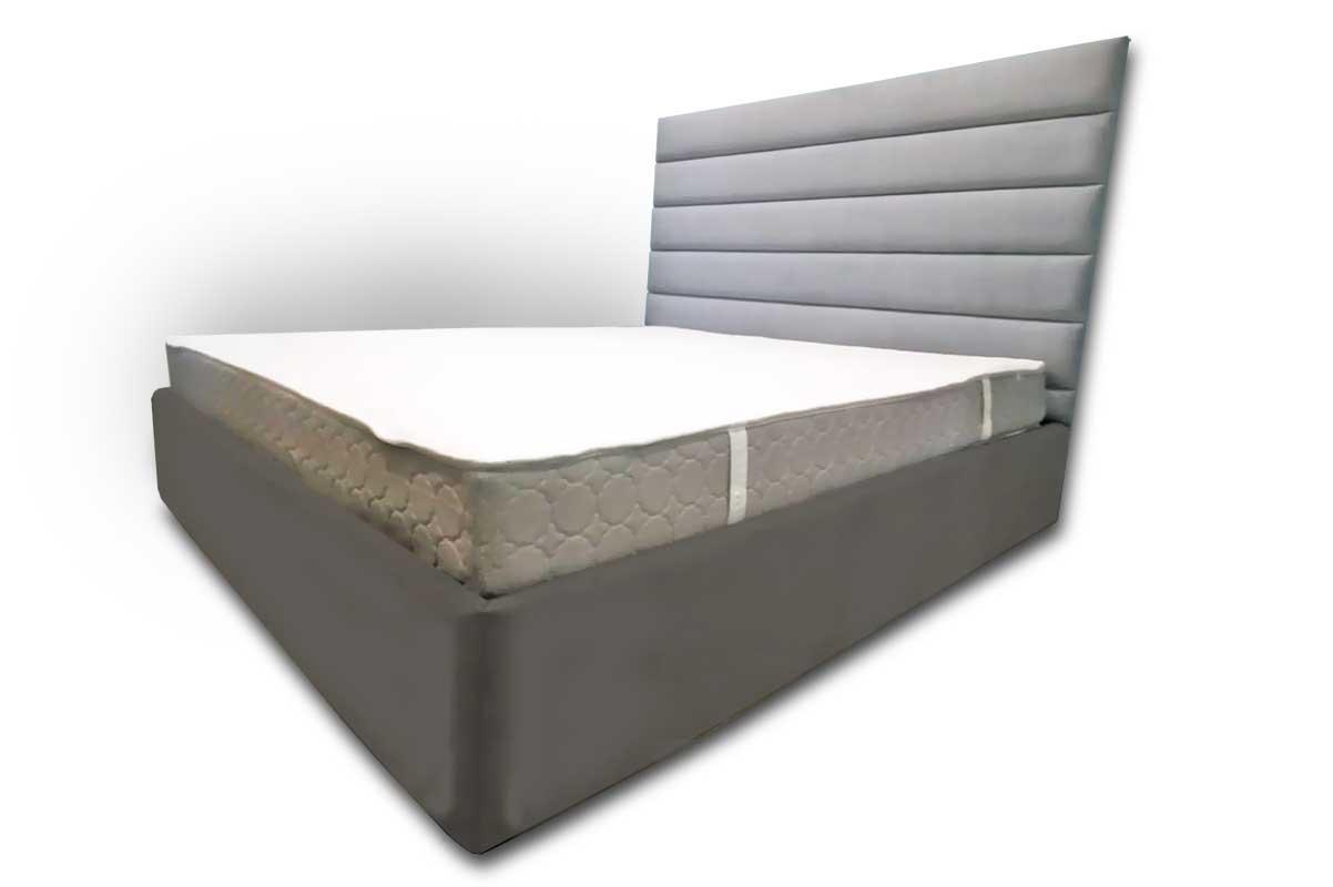 """Кровать """"Бархат"""" с мягким изголовьем и боковинами"""