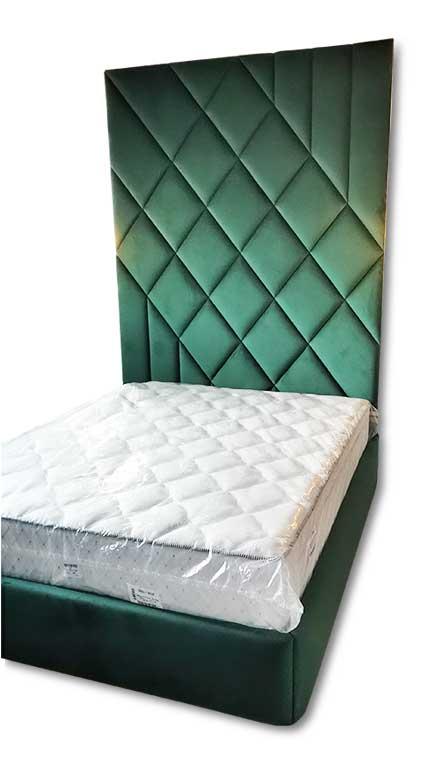 Мягкая стеновая панель плюс мягкая кровать Екатеринбург К-30