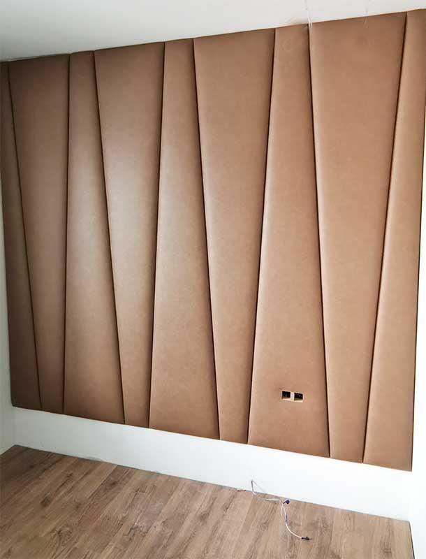 Мягкая стеновая панель монтаж стеновых панелей установка МСП-16